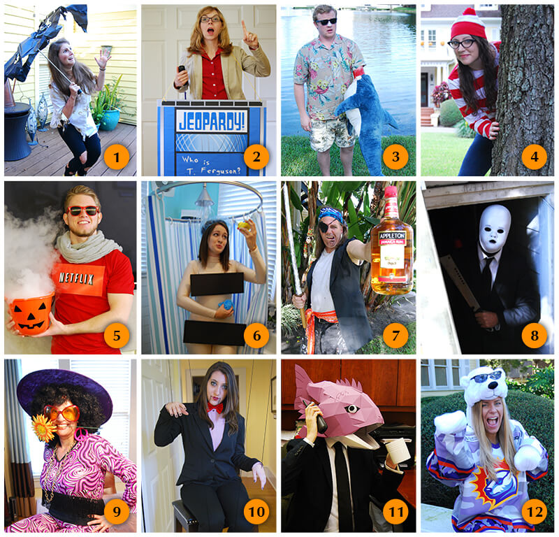 Clever Jeopardy Categories: Orlando's Best Halloween Costume Contest