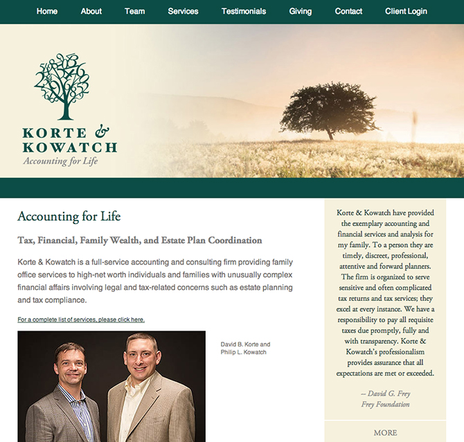 korte-and-kowatch-website