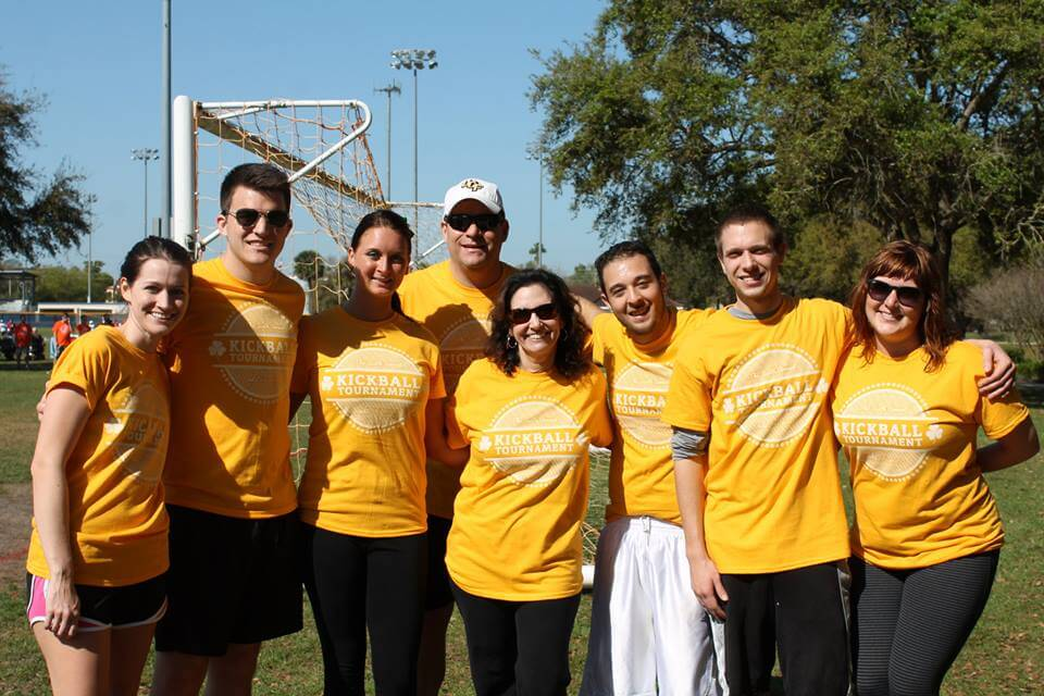 Ad2 Kickball team photo