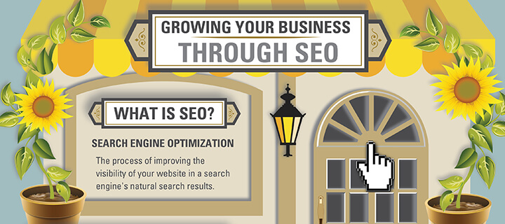 SEO infographic header