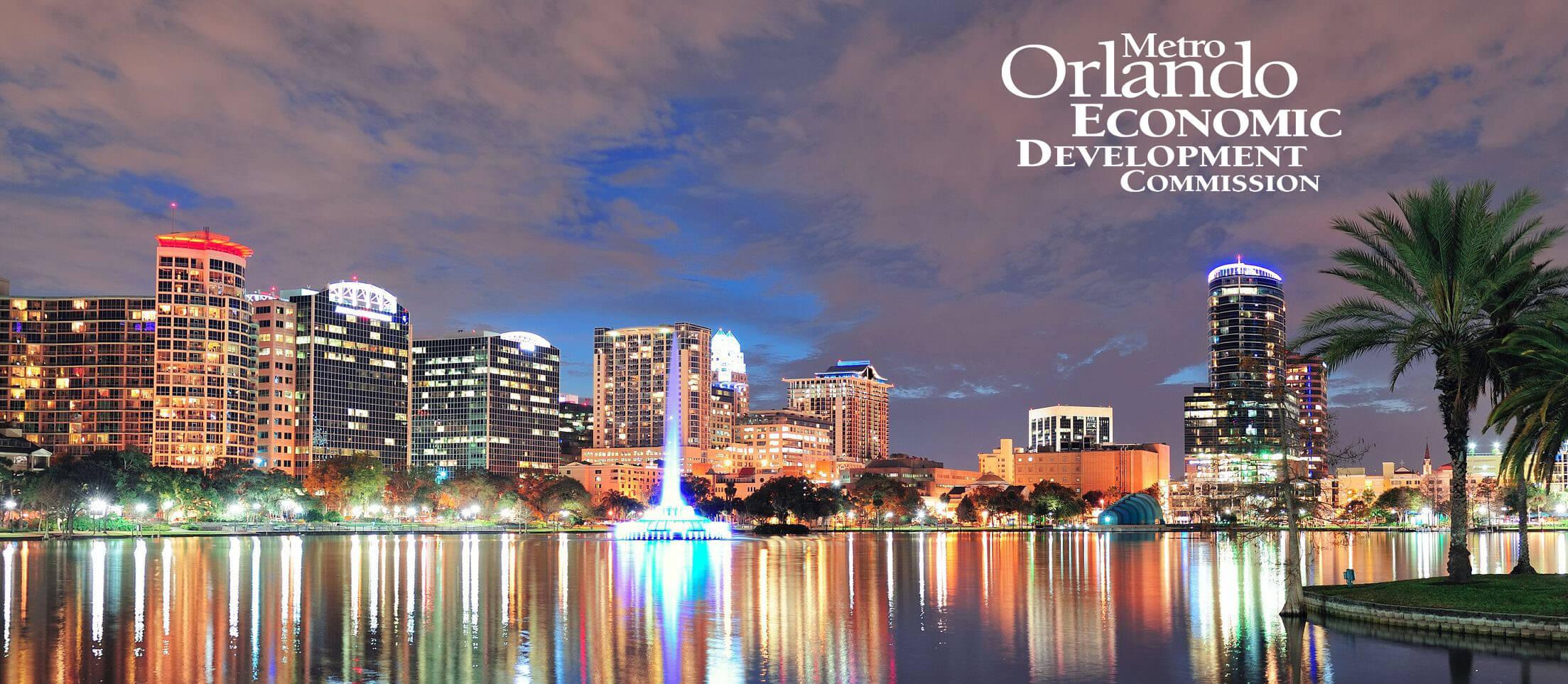 Orlando skyline EDC