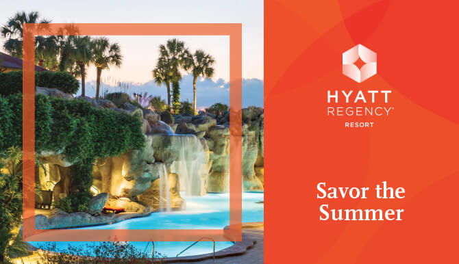"Hyatt Magazine ""Savor the Summer"""