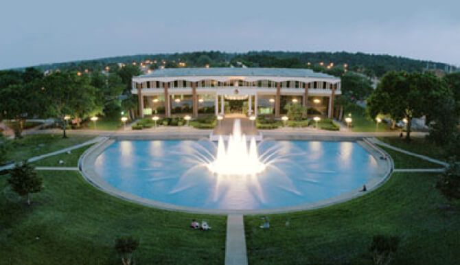 UCF Millican Hall and Reflecting Pond