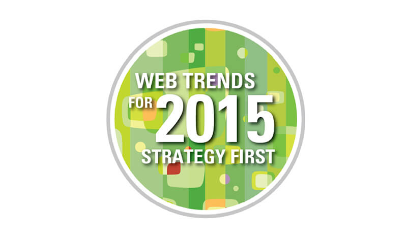 Web Trends for 2015 Strategy First badge