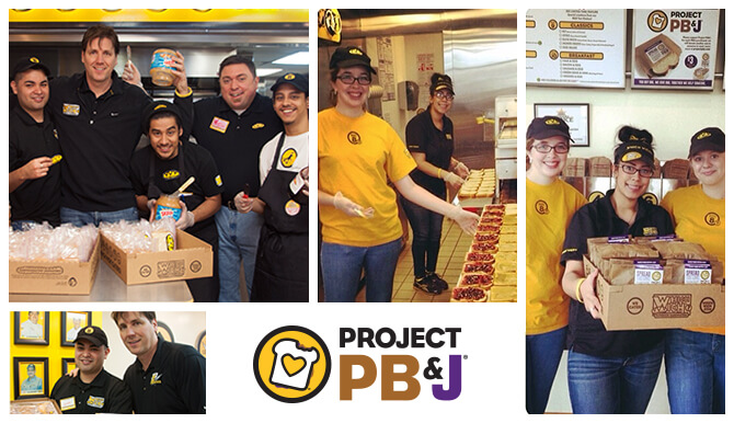 Which Wich Project PB&J