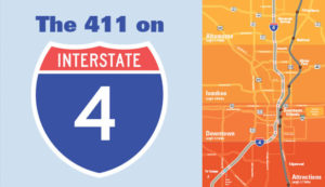 The 411 on Interstate 4 (I-4) Infographic