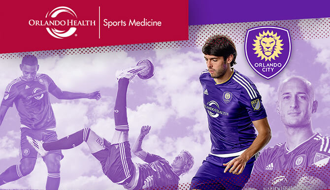 Orlando Health, Orlando City, Kaka header image