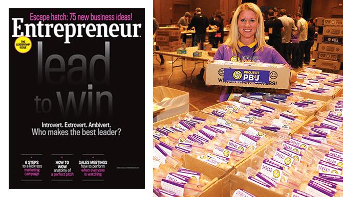 Entrepreneur magazine and which wich pbj video still