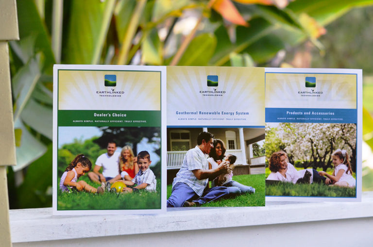 EarthLiked Technologies portfolio brochures