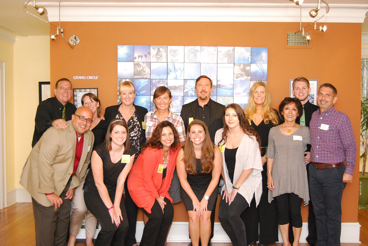Pet Alliance of Greater Orlando Appleton Awareness Gallery group shot