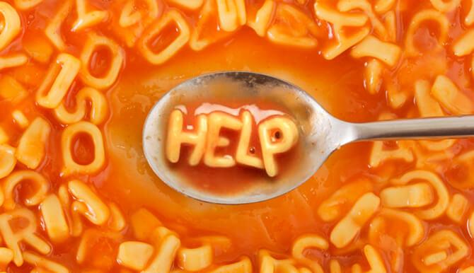 Alphabet soup help