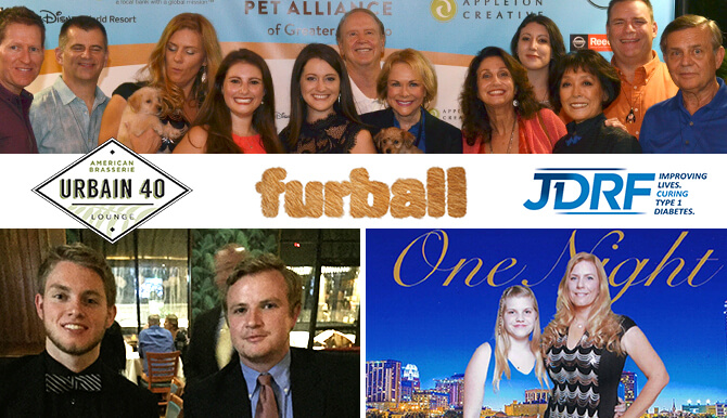 Urbain 40, Furball, JDRF events