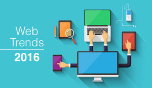 Top web trends 2016