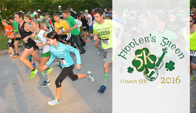 Fiddler's green 5k March 2016