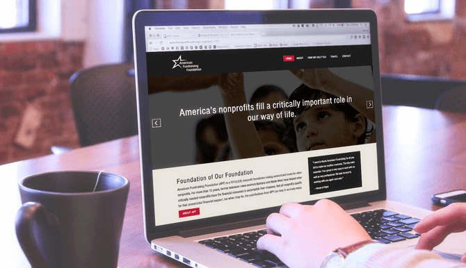American Fundraising Foundation new website