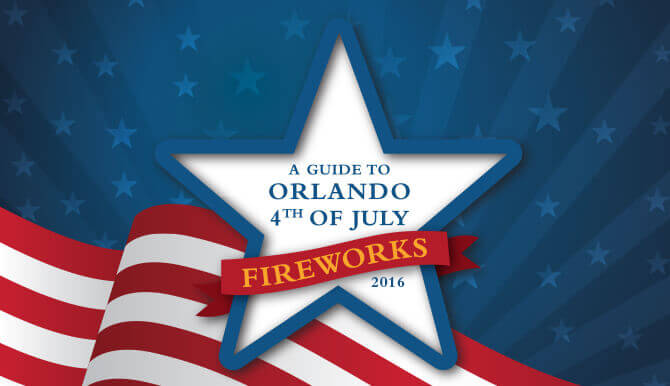 Orlando July 4th Infographic 2016