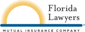 Florida lawyers mutual insurance company old logo
