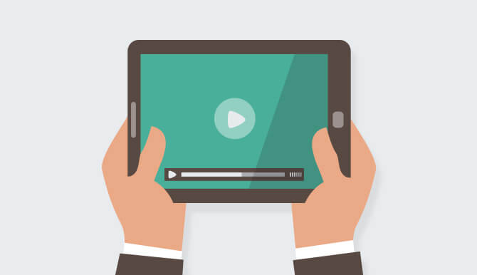 Influence visitors with video