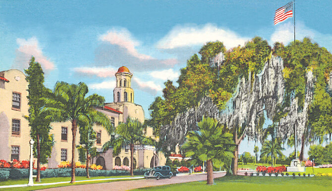Lake Gibson Village illustration