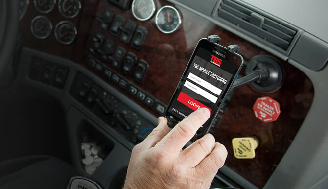 TBS Mobile Factoring App for Truckers