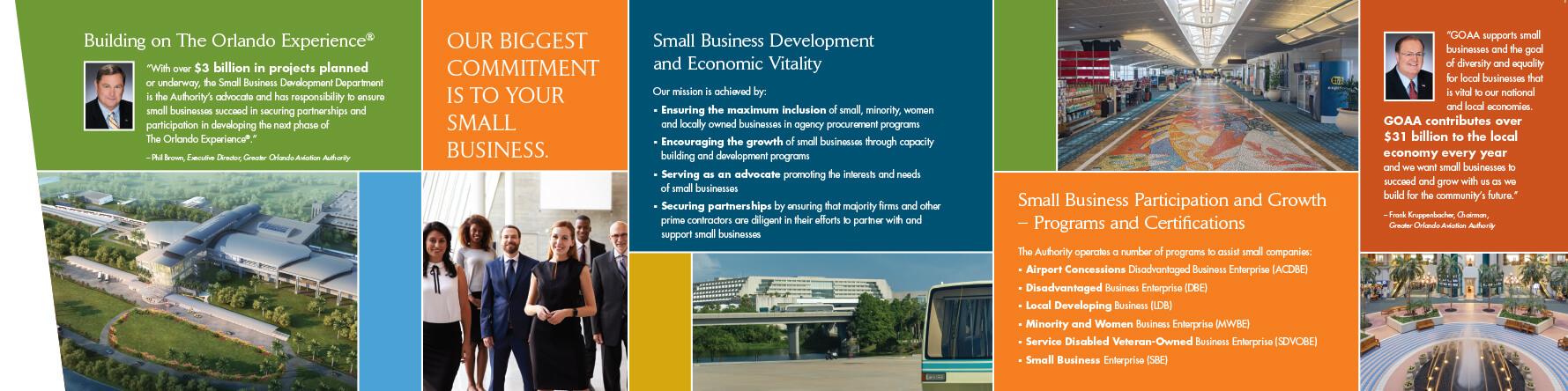 orlando international airport small business development