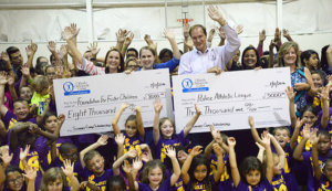 orlando orthopaedic center Foundation for Foster Children check presentation