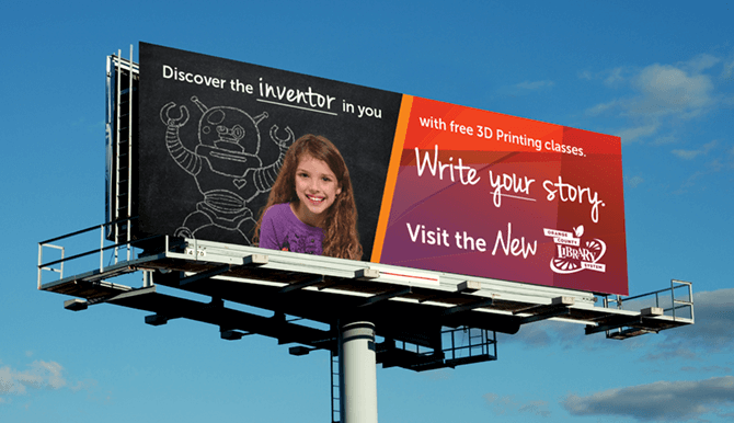 Orange County Billboard ad