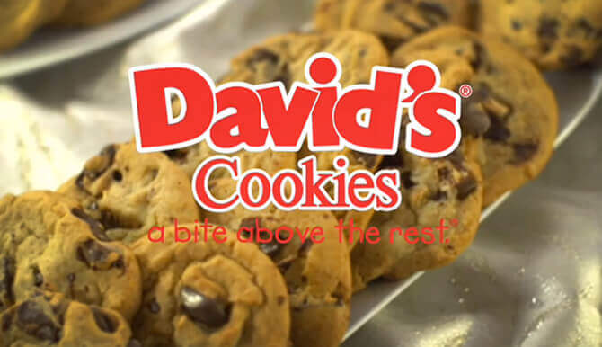 Davids cookies marketing