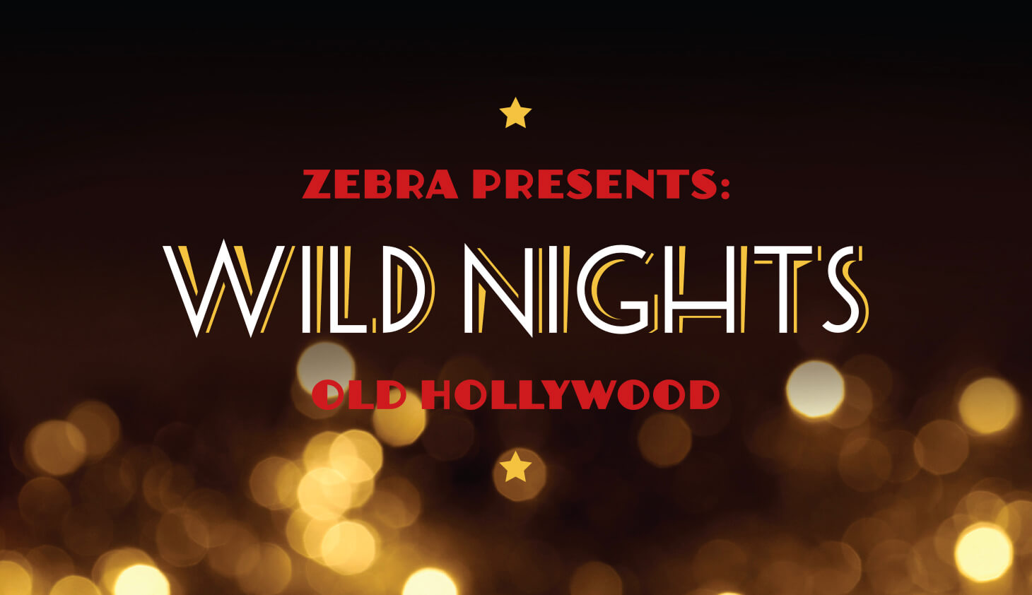 nonprofit branding for zebra wild nights 2017