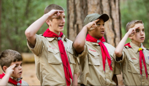 Charles Gray Soars High at the Boy Scout Golden Eagle Dinner