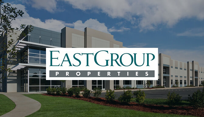 Real Estate Development Marketing for EastGroup Properties