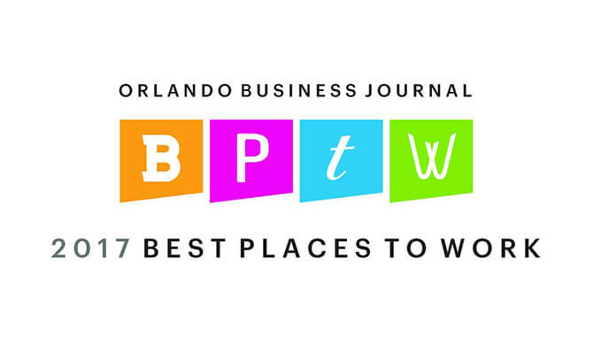 2017 Best Places to Work Orlando