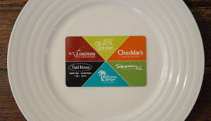 darden restaurants gift card design
