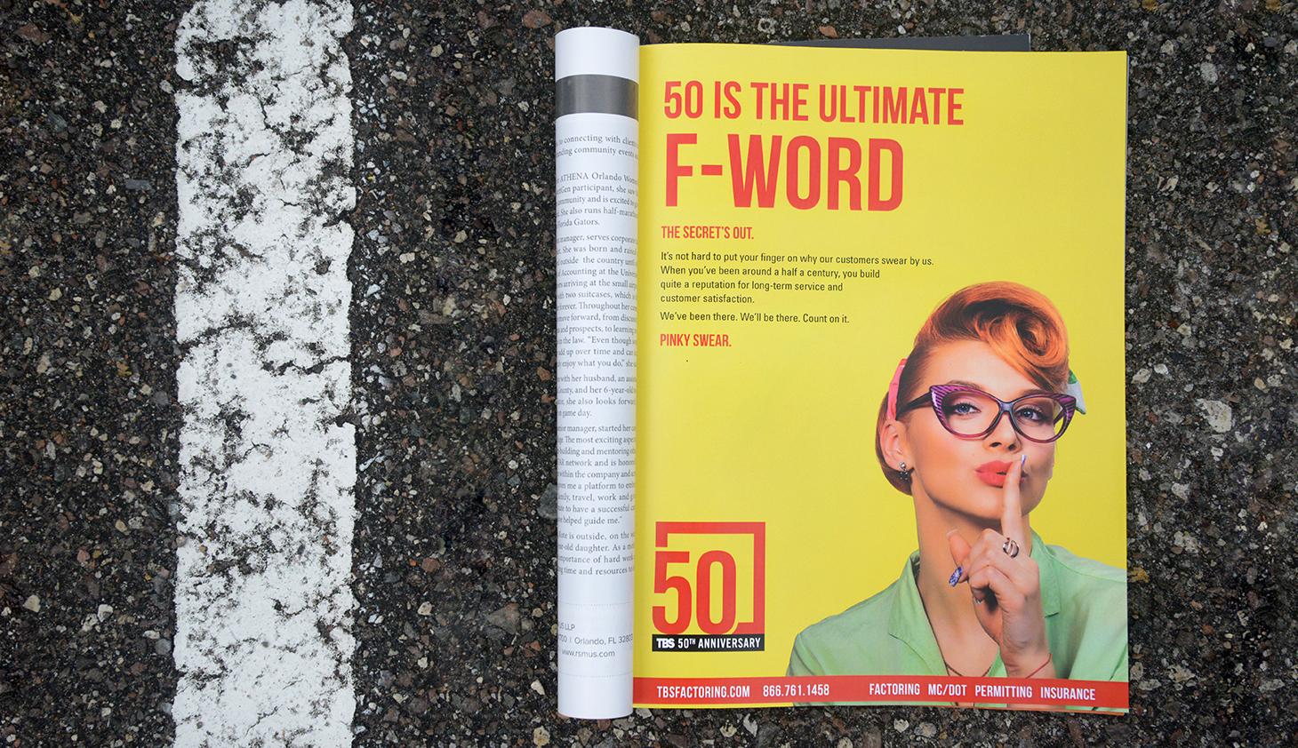 Create print ad