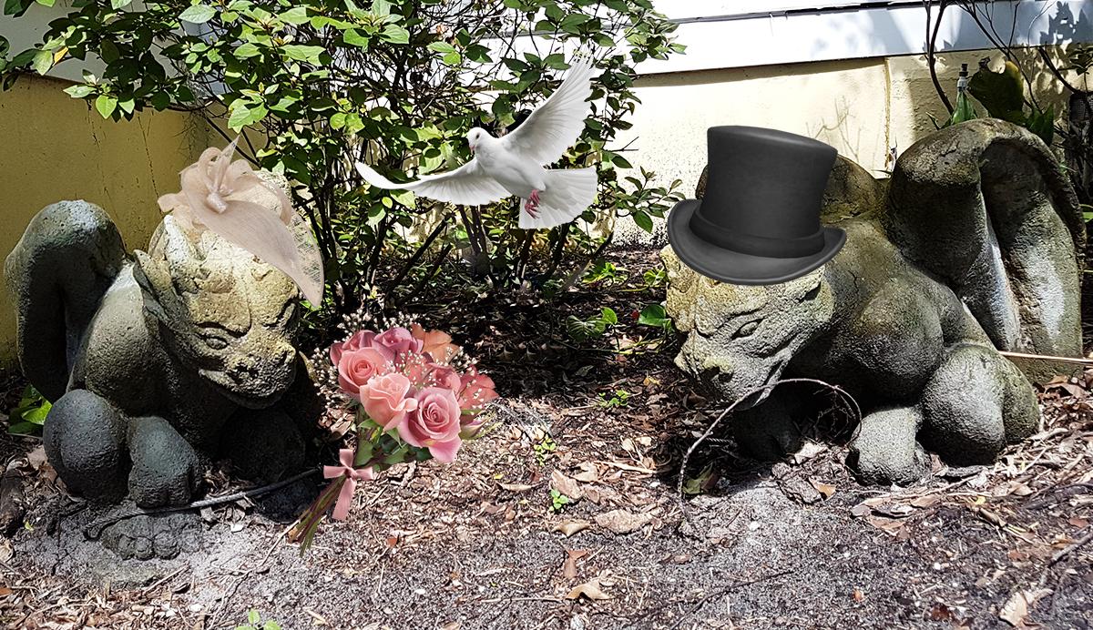 Gargoyle wedding