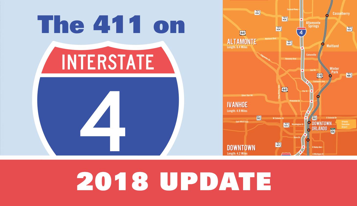 I-4 construction 2018